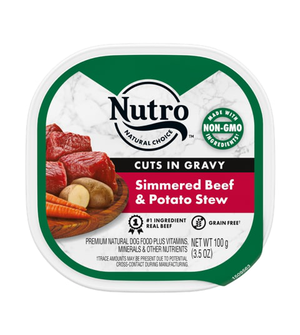 Nutro Cuts In Gravy Simmered Beef & Potato Stew