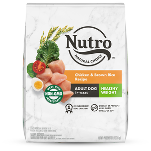 Nutro Wholesome Essentials Healthy Weight Chicken, Lentils & Sweet Potato Recipe For Adult Dogs