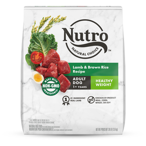 Nutro Wholesome Essentials Healthy Weight Lamb & Rice Recipe For Adult Dogs