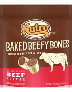Nutro Baked Beefy Bones Beef Flavor