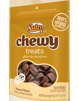 Nutro Chewy Treats Peanut Flavor