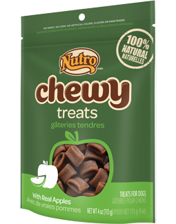 Nutro Chewy Treats With Real Apples