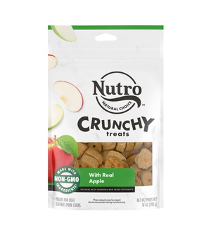 Nutro Crunchy Treats With Real Apple