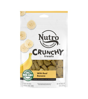 Nutro Crunchy Treats With Real Banana