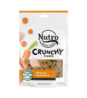 Nutro Crunchy Treats Chicken & Carrot Flavor