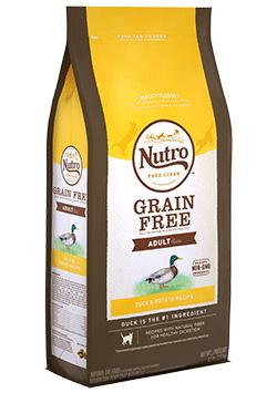 Nutro Grain Free Adult Duck & Potato Recipe