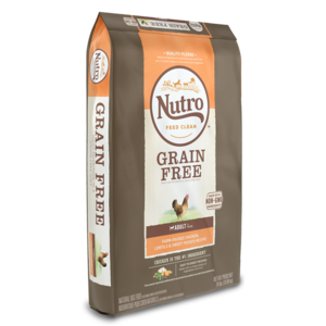 Nutro Grain Free Chicken, Lentils & Sweet Potato Recipe For Adult Dogs