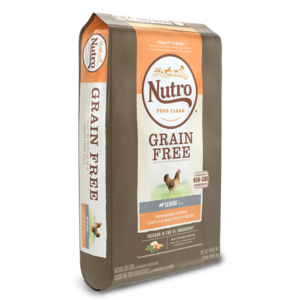 Nutro Grain Free Chicken, Lentils & Sweet Potato Recipe For Senior Dogs