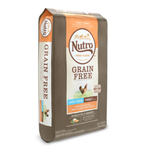 Nutro Grain Free Chicken, Lentils & Sweet Potato Recipe For Large Breed Adult Dogs