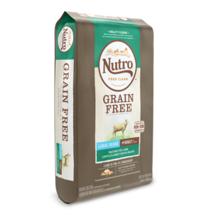 Nutro Grain Free Lamb, Lentils & Sweet Potato Recipe For Large Breed Adult Dogs