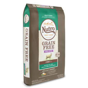 Nutro Grain Free Small Bites Lamb, Lentils & Sweet Potato Recipe For Adult Dogs