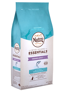 Nutro Indoor Adult White Fish & Whole Brown Rice Recipe