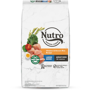 Nutro Wholesome Essentials Chicken, Brown Rice & Sweet Potato Recipe For Large Breed Adult Dogs
