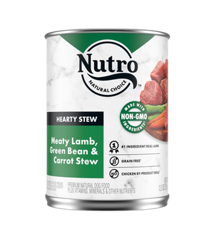 Nutro Hearty Stews Meaty Lamb & Rice Stew For Adult Dogs