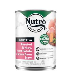 Nutro Hearty Stews Chunky Chicken & Turkey Stew For Adult Dogs