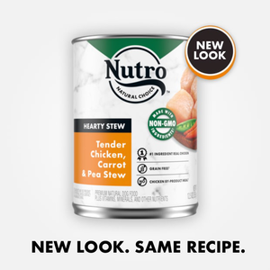 Nutro Hearty Stews Healthy Chicken & Rice Stew For Adult Dogs