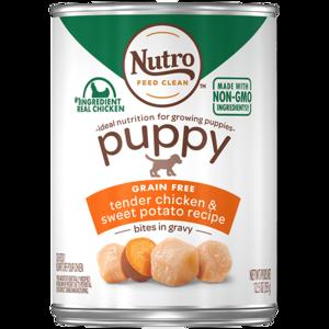 Nutro Puppy Bites In Gravy Tender Chicken & Turkey Recipe