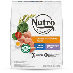 Nutro Wholesome Essentials Chicken, Brown Rice & Sweet Potato Recipe For Large Breed Senior Dogs