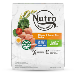 Nutro Wholesome Essentials Healthy Weight Chicken, Rice & Sweet Potato Recipe For Large Breed Adult Dogs