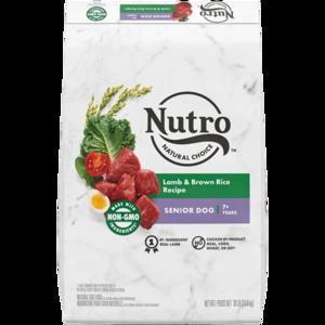 Nutro Wholesome Essentials Lamb & Rice Recipe For Senior Dogs