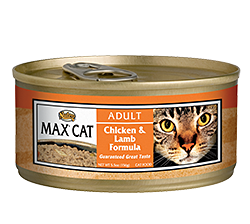 Nutro Max Chicken & Lamb Formula For Adult Cats