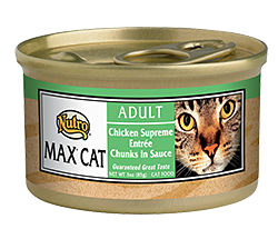 Nutro Max Chicken Supreme Entree Chunks In Sauce For Adult Cats