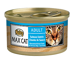 Nutro Max Salmon Entree Chunks In Sauce For Adult Cats