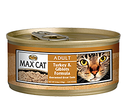 Nutro Max Turkey & Giblets Formula For Adult Cats