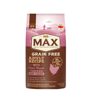 Nutro Max Grain Free Adult Recipe Chicken Mini Chunk
