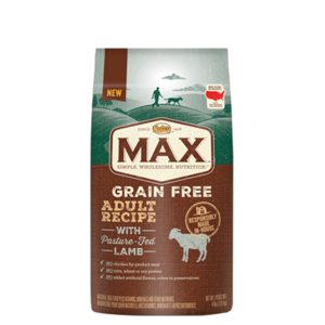 Nutro Max Grain Free Adult Recipe With Lamb