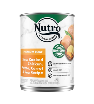 Nutro Kitchen Classics Premium Loaf Slow Cooked Chicken, Rice & Oatmeal Dinner For Adult Dogs