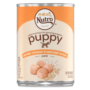 Nutro Puppy Pate Tender Chicken & Oatmeal Recipe