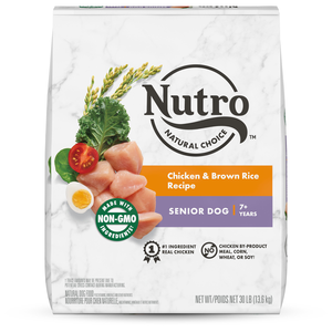 Nutro Wholesome Essentials Chicken, Brown Rice & Sweet Potato Recipe For Senior Dogs