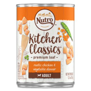 Nutro Kitchen Classics Premium Loaf Rustic Chicken & Vegetable Dinner For Adult Dogs