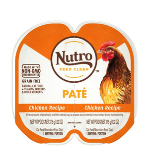 Nutro Perfect Portions Grain Free Pate Real Chicken Recipe For Adult Cats