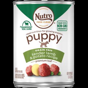 Nutro Puppy Pate Tender Lamb Recipe