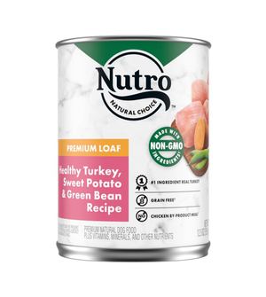 Nutro Kitchen Classics Premium Loaf Family Dinner With Turkey, Rice & Vegetables For Adult Dogs