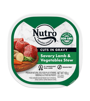 Nutro Petite Eats Savory Lamb & Garden Variety Entree For Adult Dogs