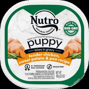 Nutro Puppy Bites In Gravy Tender Chicken & Rice Recipe