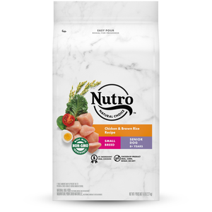 Nutro Wholesome Essentials Chicken, Brown Rice & Sweet Potato Recipe For Small Breed Senior Dogs