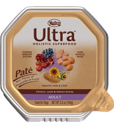 Nutro Ultra Pate Chicken, Lamb & Salmon Entree For Adult Dogs