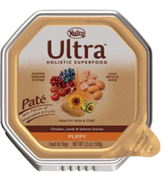 Nutro Ultra Pate Chicken, Lamb & Salmon Entree For Puppies