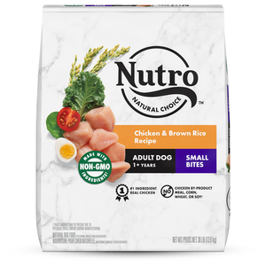 Nutro Wholesome Essentials Small Bites Chicken, Brown Rice & Sweet Potato Recipe For Adult Dogs