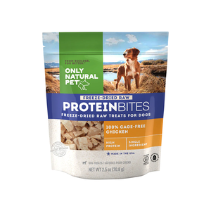 Only Natural Pet All Meat Bites 100% Cage Free Chicken Breast