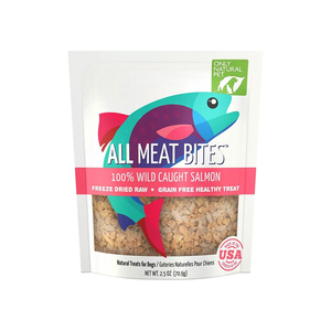 Only Natural Pet All Meat Bites 100% Wild Caught Salmon