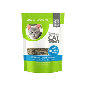 Only Natural Pet All Natural Cat Treats 100% Wild Caught Minnows