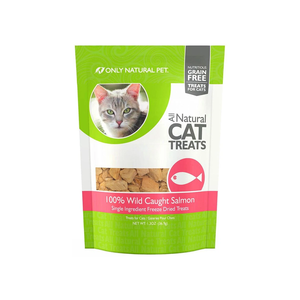 Only Natural Pet All Natural Cat Treats 100% Wild Caught Salmon