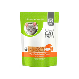 Only Natural Pet All Natural Cat Treats Wild Caught Bonito Flakes