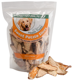 Only Natural Pet All Natural Health Treats Sweet Potato Slices