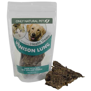 Only Natural Pet All Natural Health Treats Venison Lung